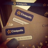 Photo taken at Cinépolis by Luciana S. on 1/3/2013