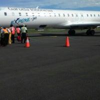 Photo taken at Bandara Tampa Padang (MJU) by Edy P. on 2/17/2016