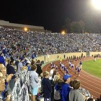 Photo taken at Brooks Field at Wallace Wade Stadium by Julia B. on 10/21/2012