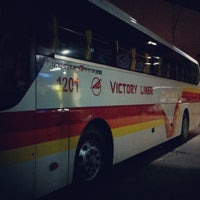 Photo taken at Victory Liner (Cubao Terminal) by Ujin A. on 9/28/2012