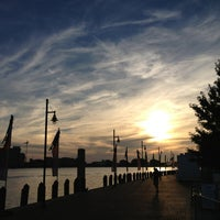 Photo taken at Town Point Park by Michael L. F. on 6/20/2013