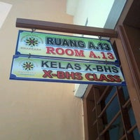 Photo taken at SMA Negeri 8 Malang by Amalia N. on 8/30/2013
