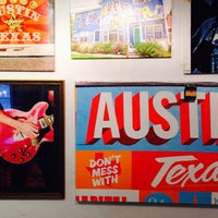 Photo taken at South Austin Gallery by Pierre A. on 10/24/2015