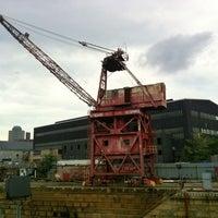 Photo taken at Brooklyn Navy Yard Center at BLDG 92 by Natalya on 10/6/2012