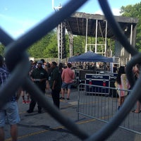 Photo taken at Northside Festival by Sean S. on 6/15/2014