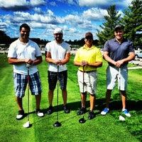 Photo taken at Romeo Golf Club by Matthew L. on 9/15/2012