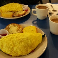 Photo taken at Omelette Factory by Robin H. on 5/21/2015
