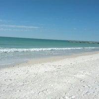 Photo taken at Bradenton Beach by Matt T. on 2/2/2013