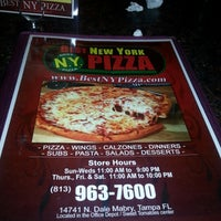 Photo taken at Best New York Pizza by Wil M. on 11/1/2012