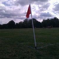 Photo taken at Latrobe Field by Andrew L. on 9/29/2012