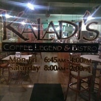 Photo taken at Kaladi's Coffee Legend & Bistro by GlennMatthew W. on 10/15/2012