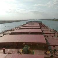 Photo taken at Suez Canal by Metin C. on 11/11/2016