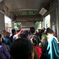 Photo taken at Halte TransJakarta Departemen Pertanian by Henry Z. on 1/10/2014