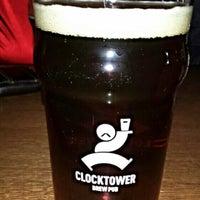 Photo taken at Clocktower Brew Pub by Sébastien B. on 10/30/2015