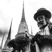 Photo taken at Wat Pho by Weng Hoe L. on 6/21/2013
