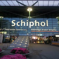 Photo taken at Amsterdam Airport Schiphol (AMS) by Orimija Ž. on 10/19/2013