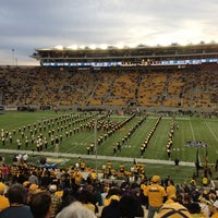 Photo taken at California Memorial Stadium by Joel K. on 11/3/2012