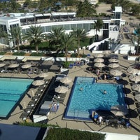 Photo taken at Eden Roc Pool by Brent S. on 11/19/2012