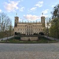 Photo taken at Schloss Albrechtsberg by Pavel K. on 4/18/2015