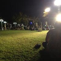 Photo taken at Santichai Prakan Park by kroeklit m. on 2/25/2012