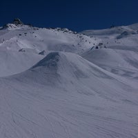 Photo taken at Xperia Ischgl Snowpark by Dmitry S. on 3/16/2013