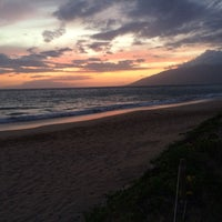 Photo taken at Kamaole Beach Park I by Vince R. on 5/19/2015