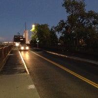 Photo taken at I Street Bridge by Shehab P. on 9/27/2013