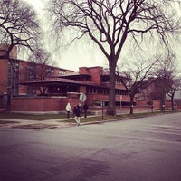 Photo taken at Frank Lloyd Wright Robie House by Mathieu H. on 1/14/2013