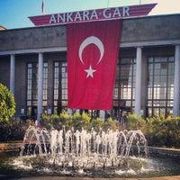 Photo taken at Ankara Garı by Levent T. on 9/24/2012