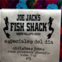 Photo taken at Joe Jack's Fish Shack by Paco S. on 12/27/2012