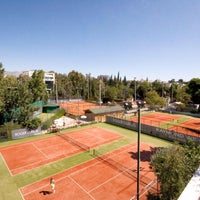 Photo taken at Filothei Tennis Club by Στάθης Κ. Σ. on 7/16/2016