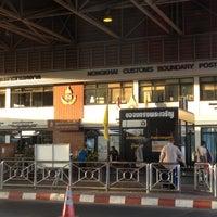 Photo taken at Thailand-Laos Friendship Bridge Immigration by Oat - Potjanawan N. on 5/15/2013