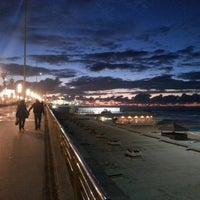 Photo taken at La Corniche de Casablanca by Karim Y. on 10/19/2012