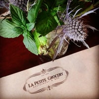 Photo taken at La Petite Grocery by The Growler M. on 4/5/2014