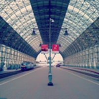 Photo taken at Kievsky Rail Terminal by Alexander T. on 8/22/2013