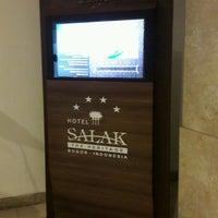 Photo taken at Hotel Salak The Heritage by Ahmad Margi on 10/7/2016