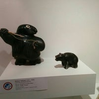 Photo taken at Museum of Inuit Art by Tyler C. on 7/16/2015