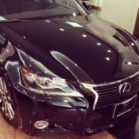 Photo taken at Lexus of Manhattan by LOYALTOYOTA on 11/19/2013