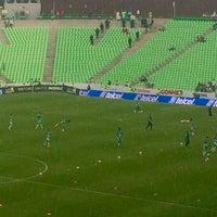 Photo taken at Territorio Santos Modelo Estadio by Gustavo D. on 11/6/2016
