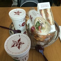 Photo taken at Pret A Manger by Hanna S. on 9/2/2014