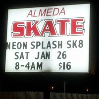 Photo taken at Almeda Skating Rink by Lisa H. on 1/27/2013