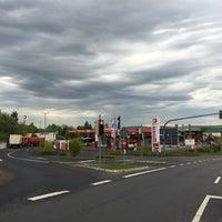 Photo taken at TOTAL Tankstelle by David L. on 5/5/2015