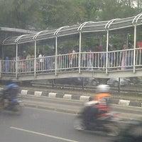 Photo taken at Halte TransJakarta Grogol 1 by Nur Wardha A. on 11/14/2013