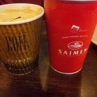 Photo taken at SAIMEN - Bakery, Noodle, Fried Chicken @ Prapto by Wenny E. on 10/25/2013