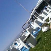Photo taken at Casanovas Beach Club by jorgedihe on 6/15/2013