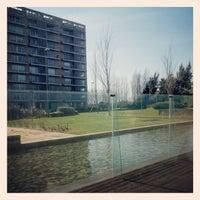 Photo taken at Arrabida Lake Towers by Jorge C. on 2/26/2014