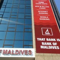 Photo taken at Bank of Maldives PLC by Ahmed A. on 4/15/2016