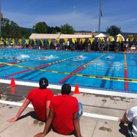 Photo taken at Vintage High Swim Center by Courtenay J. on 4/27/2012