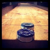 Photo taken at Twain's Brewpub & Billiards by Kelli M. on 8/16/2012