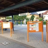 Photo taken at Bahnhof Herrenberg by Andre B. on 6/13/2016